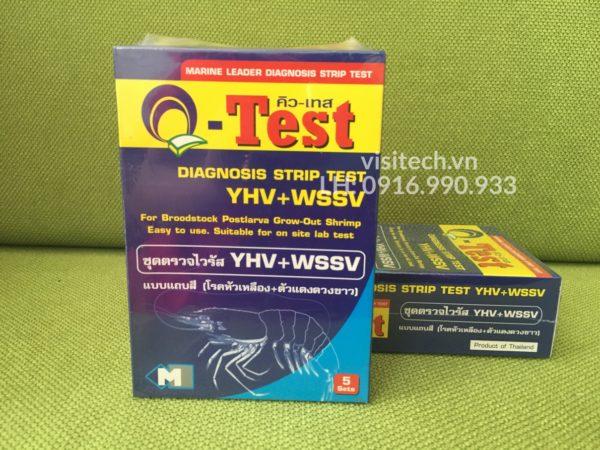test nhanh virus gây bệnh đốm trắng WSSV và bệnh đầu vàng YHV trên tôm