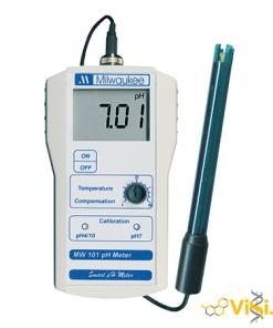 Máy đo pH đất cầm tay điện tử hiện số MW101 Milwaukee