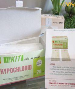 Test Kit kiểm tra nhanh Hypoclorid HT04