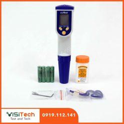 Bút đo độ mặn có khả năng chống nước tốt cho tất cả các thí nghiệm ở môi trường nước