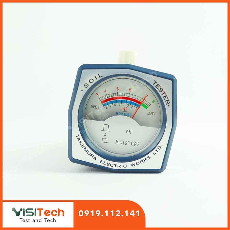 Máy đo pH - độ ẩm đất takemura DM15