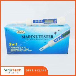 Thiết bị đo độ mặn cầm tay DMT-10 dùng để đo lượng muối trong nước nuôi trồng thủy sản