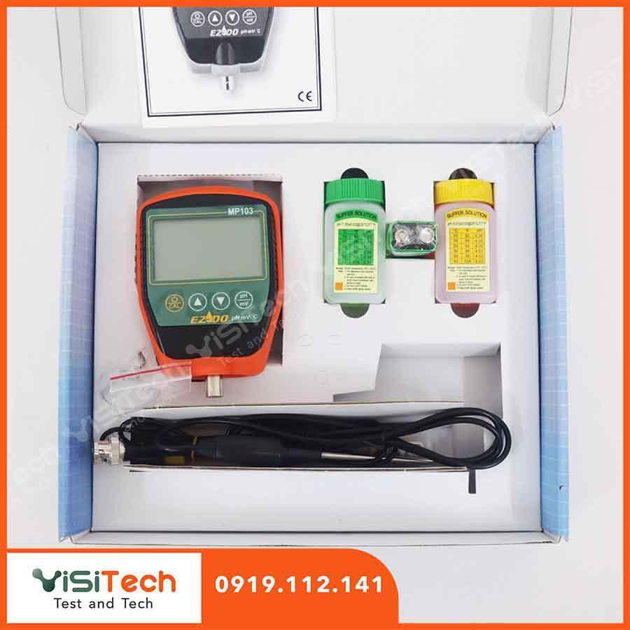 Thiết bị đo pH nước cầm tay chính hảng Gondo