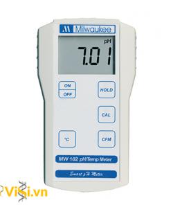 Máy đo pH/nhiệt độ thực phẩm cầm tay điện tử MW102