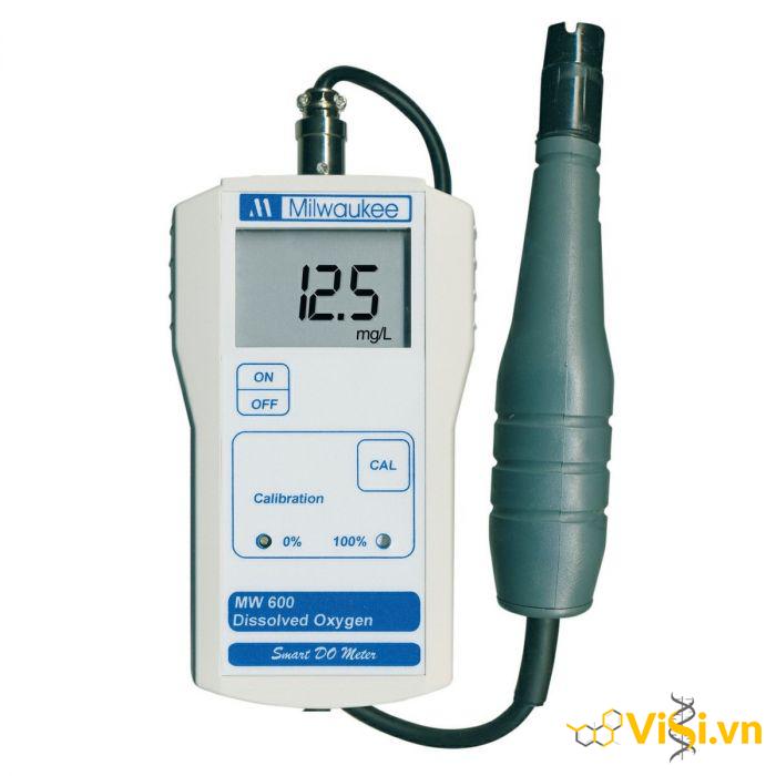 Máy đo oxy hòa tan cầm tay điện tử hiện số MW600