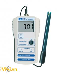 Máy đo pH cầm tay điện tử hiện số MW100 Milwaukee