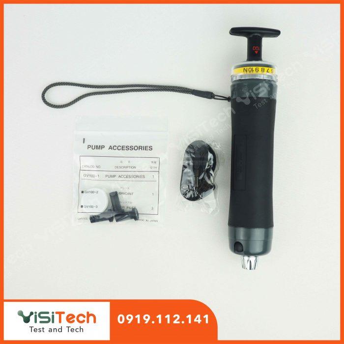 Bơm lấy mẫu khí cầm tay GV-110S Gastec được ứng dụng để phân tích hơi trong không khí