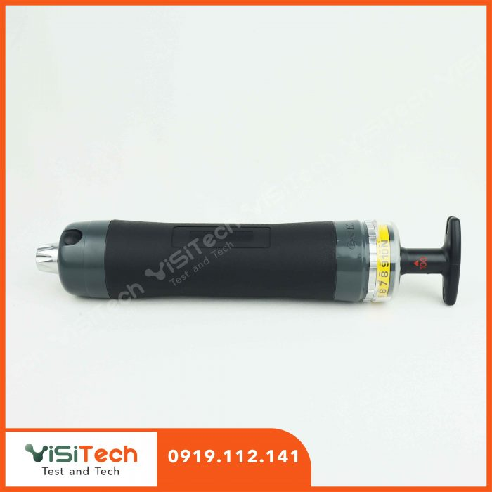 Máy đo khí Gastec giúp chỉ ra nồng độ trực tiếp bằng thang đo in trên ống