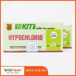 Bộ kít test nhanh thực phẩm HT04 kiểm soát hiệu quả hypoclorid có trong dưa muối