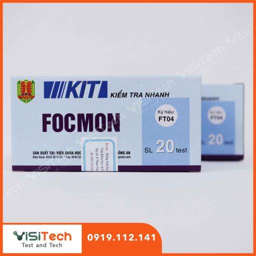 Cách xác định formol trong thực phẩm hiệu quả bằng test kit kiểm tra nhanh FT 04 BCA