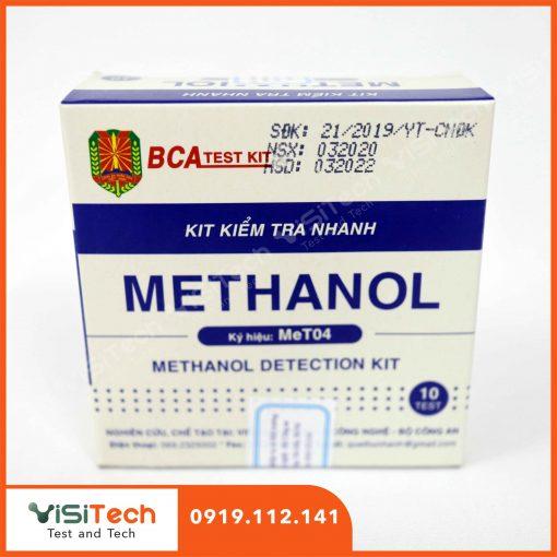 Cách xác định metanol trong rượu nhanh chóng bằng test metanol MeT04 Bộ Công An