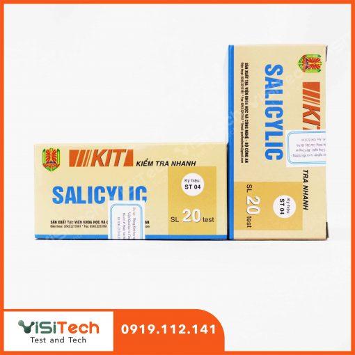 Cách xác định salicilic trong rau quả ngâm hiệu quả bằng test kit kiểm tra nhanh ST04 BCA