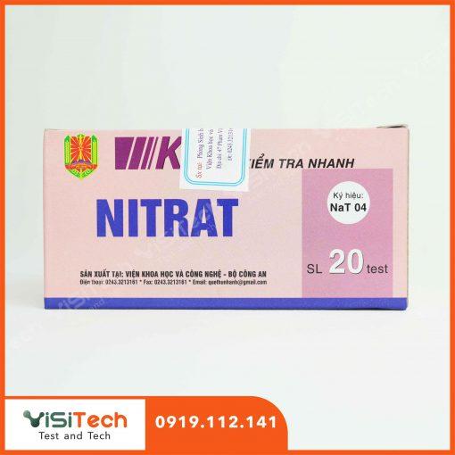 Hướng dẫn kiểm tra nhanh nitrat có trong thịt hộp bằng test kit NaT04 BCA