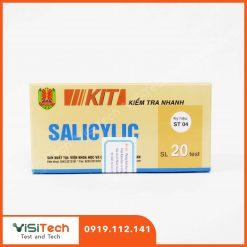 Hướng dẫn phát hiện nhanh acid salicilic trong dưa cà muối bằng kit kiểm tra salicilic ST04