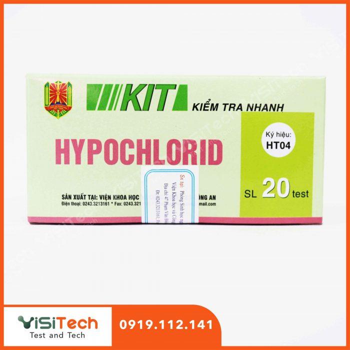 Hướng dẫn test nhanh hypoclorid có trong cà muối bằng test HT04 Bộ Công An