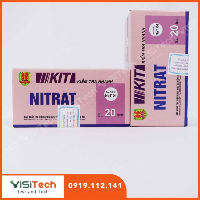 Test NaT04 BCA giúp kiểm soát nitrat trong dưa muối với độ chính xác cao