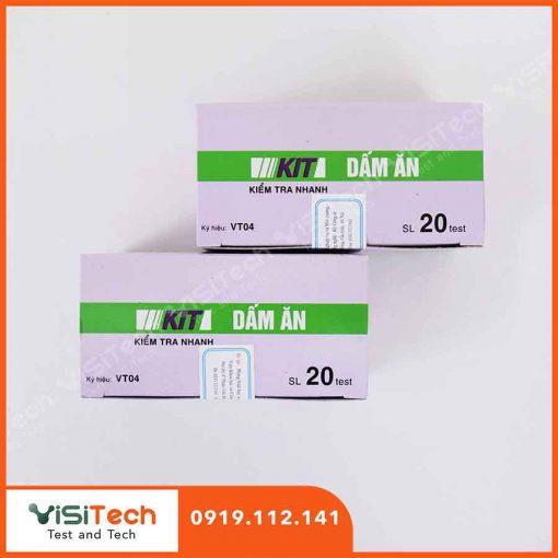 Kit VT04 BCA giúp đo nồng độ axit trong giấm ăn