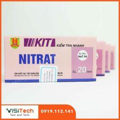 Kit kiểm tra nhanh Nitrat NaT04 giúp kiểm soát hàm lượng Nitrat có trong dưa muối