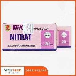 Kit kiểm tra nhanh nitrat NaT04