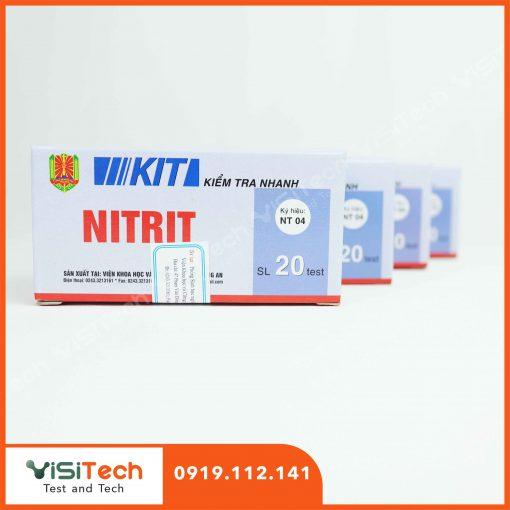 Kit kiểm tra nhanh nitrit NT04 giúp kiểm soát nitrit có chứa trong nước giải khát không màu