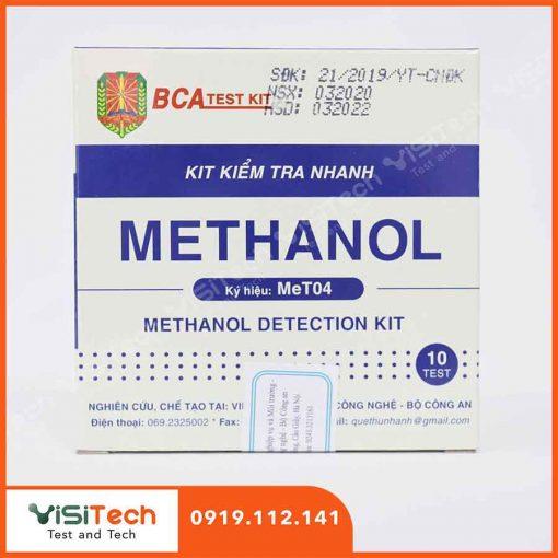 Test kiểm tra nhanh methanol trong rượu MeT04