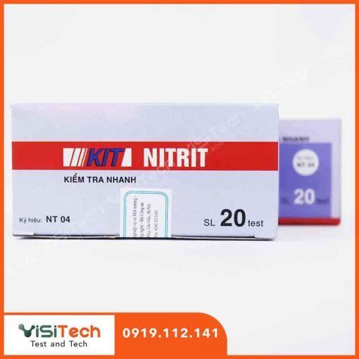 Test kiểm tra nhanh nitrit NT04