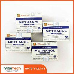 Test kit kiểm tra nhanh MeT04 BCA giúp kiểm tra nồng độ Metanol có chứa trong rượu