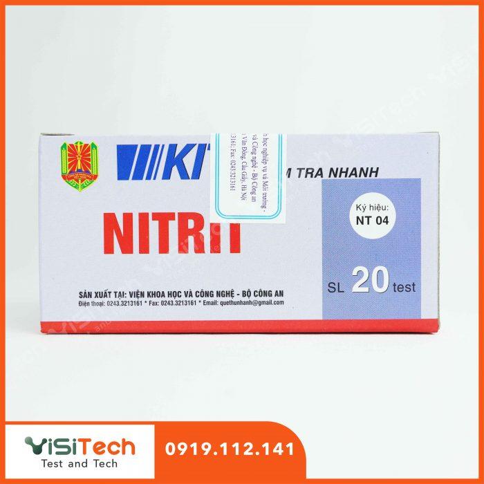 Visitech chuyên cung cấp sỉ và lẻ test kiểm tra nhanh NT04 BCA giá rẻ, giao hàng toàn quốc