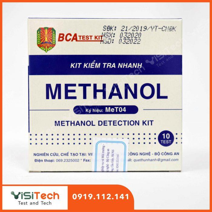 Visitech chuyên cung cấp sỉ và lẻ test metanol MeT04 BCA giao hàng toàn quốc
