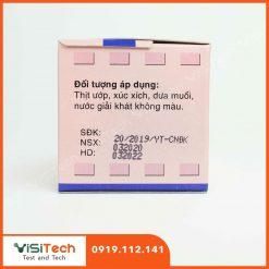 Visitech cung cấp test nhanh nitrat giá rẻ, giao hàng toàn quốc