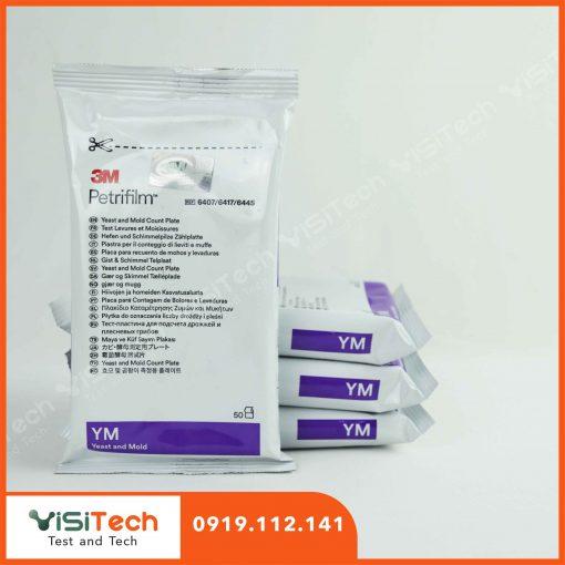 Đĩa Petrifilm 3M giúp kiểm tra nấm men nấm mốc trong môi trường chế biến thực phẩm