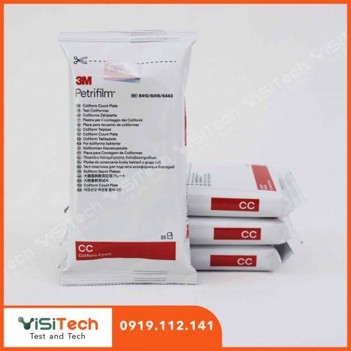 Đĩa Petrifilm Coliforms CC 6410/6416 3M cung cấp phương pháp hiệu quả để kiểm soát vi khuẩn Coliforms