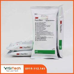 Đĩa Petrifilm Coliforms EC 6404/6414 3M giúp định lượng Ecoli trong nước uống và thức ăn