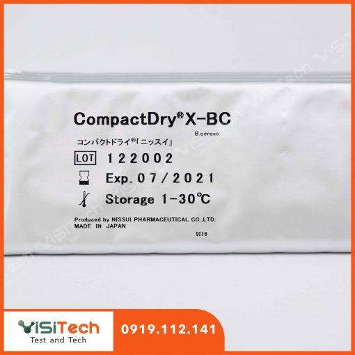 Kiểm tra Bacillus cereus nhanh chóng, chính xác bằng đĩa Compact Dry