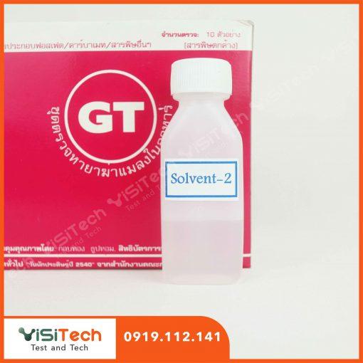 Test nhanh thuốc trừ sâu trong nước uống 001G9 có kết quả sau 30 phút