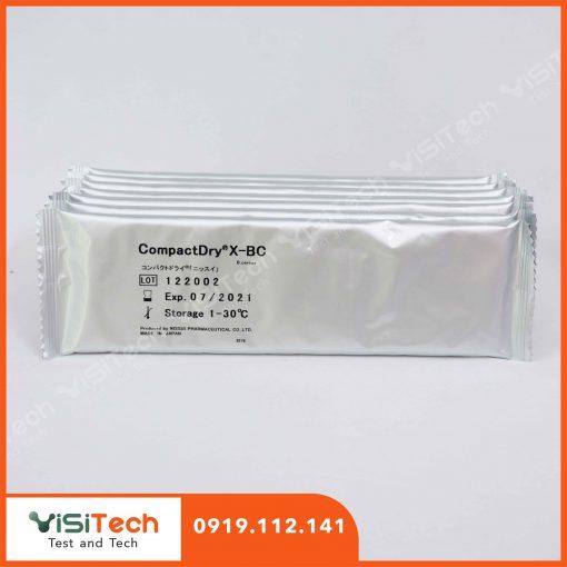 Visitech cung cấp đĩa Compact Dry X-BC – Nissui giá rẻ, giao hàng toàn quốc