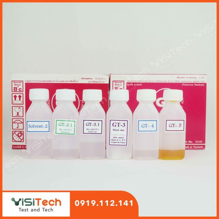 Visitech cung cấp kit test nhanh thuốc trừ sâu chính hãng giả rẻ