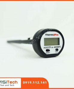 Hướng dẫn sử dụng máy đo nhiệt độ TP-01 ThermoPro trong nhà bếp