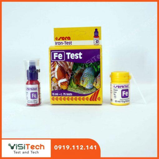Test Sera Fe kiểm tra nhanh sự thay đổi Sắt trong nước