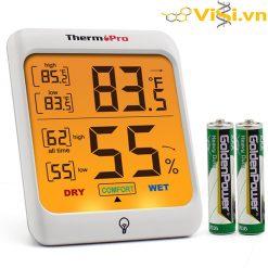 Nhiệt ẩm kế điển tử màn hình cảm ứng siêu chất TP-53 ThermoPro
