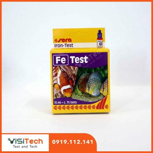 Test Fe Sera giúp kiểm soát hàm lượng sắt ảnh hưởng tới tôm giống