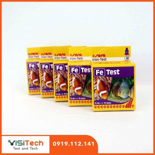 Test Fe Sera kiểm tra nhanh chóng hàm lượng sắt trong ao nuôi trồng thủy sản