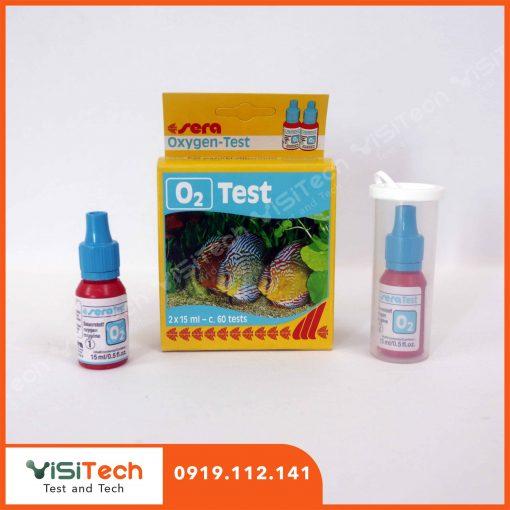 Test O2 Sera trong nước giúp cải thiện chất lượng môi trường ao nuôi