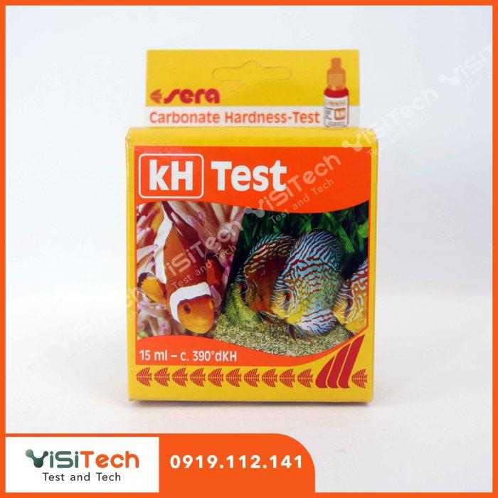 Test kH Sera gồm những thuốc thử và dung cụ gì?