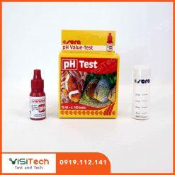 Test pH Sera giúp kiểm soát độ pH của nước nuôi cá cảnh