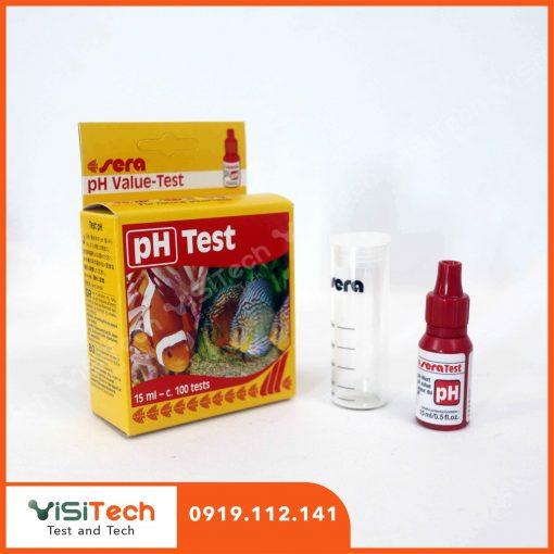 Test pH Sera kiểm tra nhanh chóng độ pH trong nuôi trồng thủy sản