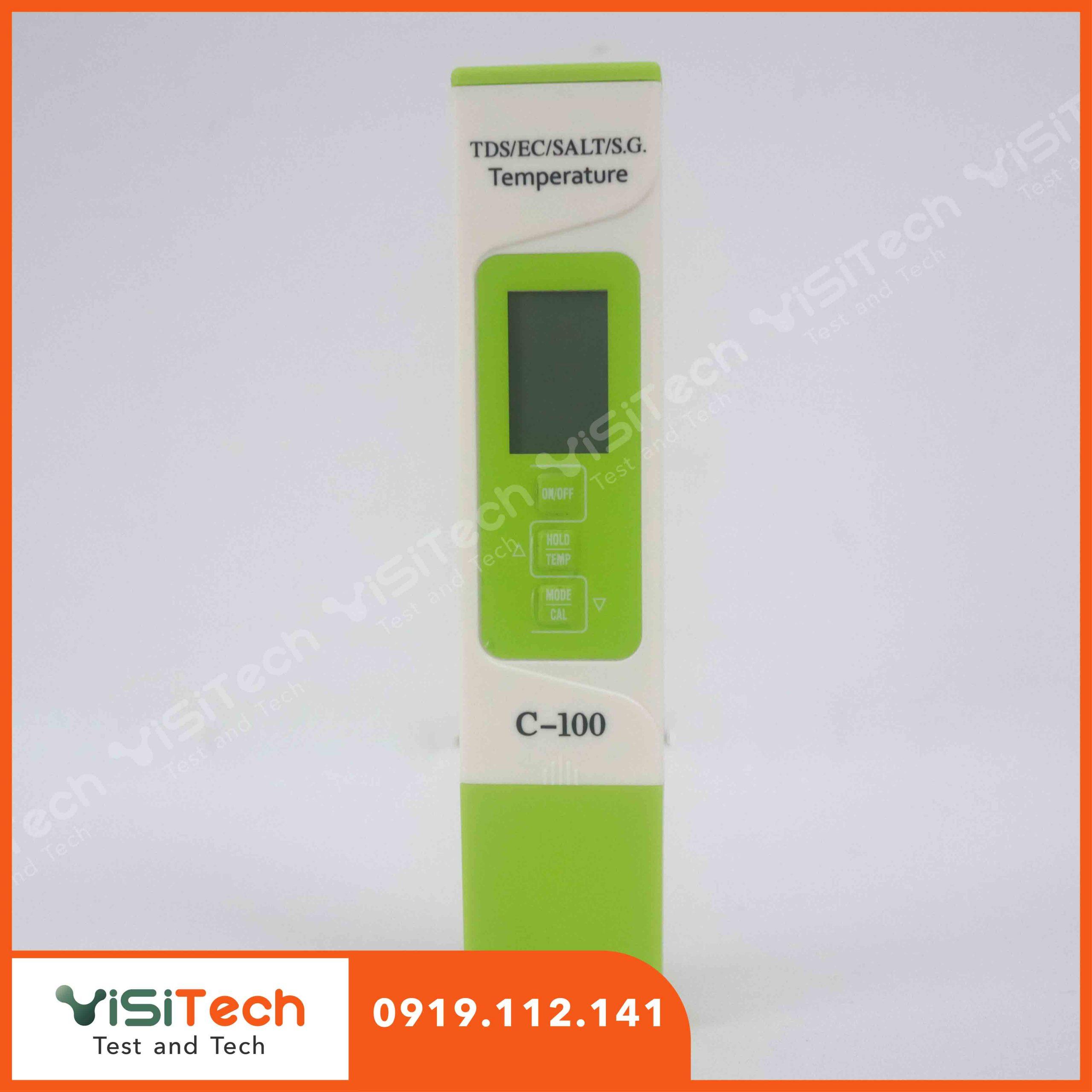 Bút đo độ mặn giá rẻ C100 tại Visitech